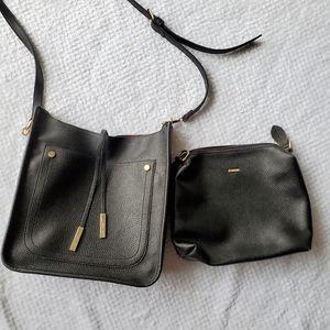 Anthro-Remi & Reid Vegan Leather Fallon Crossbody